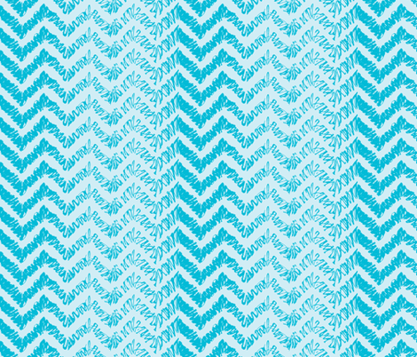 scribble-chevron1 fabric by owlandchickadee on Spoonflower - custom fabric