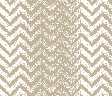 scribble-chevron2 fabric by owlandchickadee on Spoonflower - custom fabric