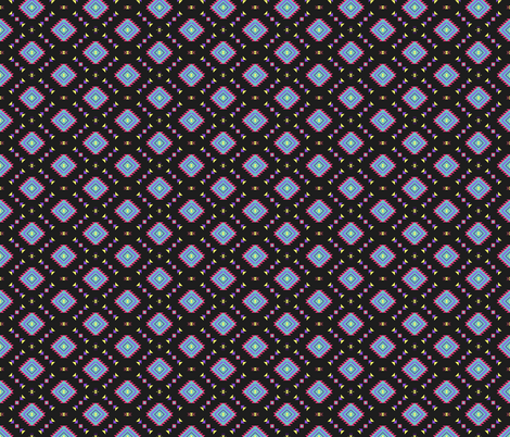 Neon Aztec fabric by biancagreen on Spoonflower - custom fabric