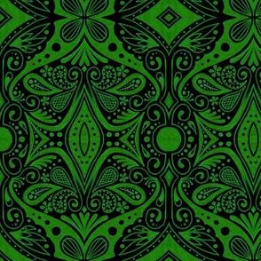 Waxwing - Green