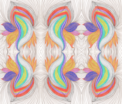 Psychodelic Lite fabric by stepanic on Spoonflower - custom fabric