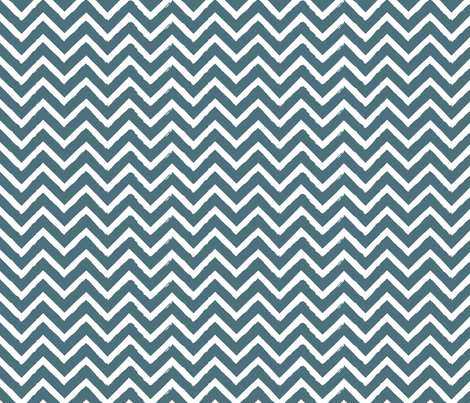 chevron-chalk8 fabric by owlandchickadee on Spoonflower - custom fabric