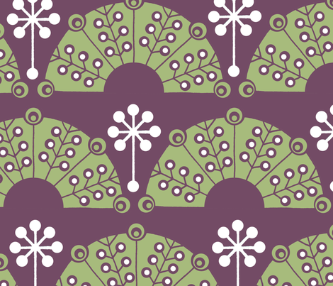 Eden Garden fabric by summerhoney on Spoonflower - custom fabric