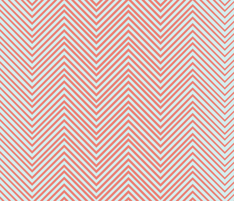 skinny-chevron2 fabric by owlandchickadee on Spoonflower - custom fabric