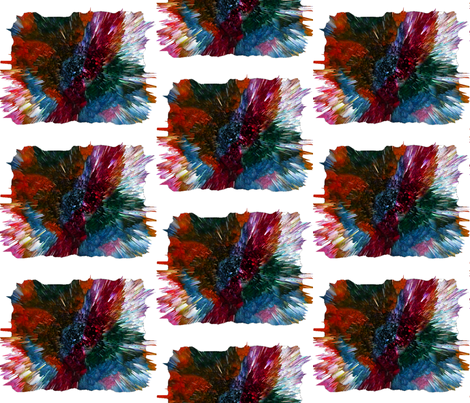Color Burst in Middle Age fabric by anniedeb on Spoonflower - custom fabric