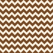 fun-with-chevrons - Chocolate/Ivory