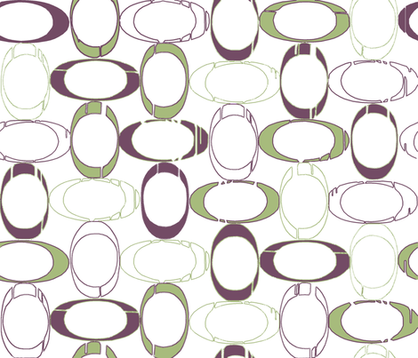 retro_oval fabric by energypattern on Spoonflower - custom fabric