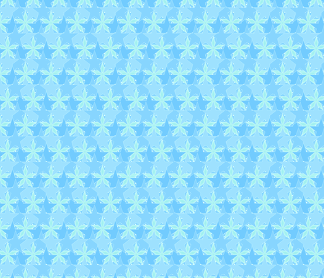 Star_Spots_-_Spring_on_the_Ocean fabric by glimmericks on Spoonflower - custom fabric