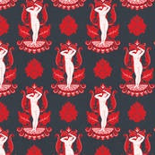 Venus Damask Red