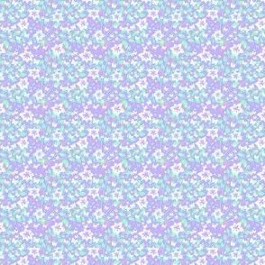Fleurs et poussins 1