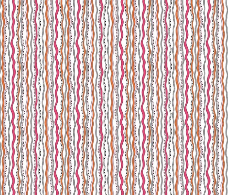 Pink_Painted_Stripe fabric by anderson_lee on Spoonflower - custom fabric
