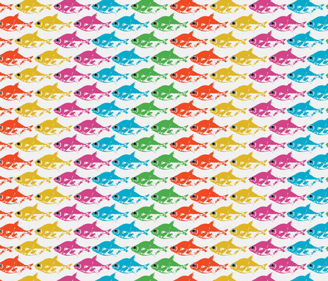 The Rainbow Fish fabric by alysnpunderland on Spoonflower - custom fabric