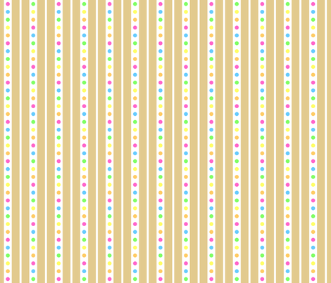 Sprinkle Stripe Cookie fabric by modgeek on Spoonflower - custom fabric