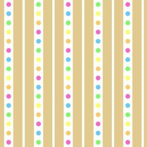 Sprinkle Stripe Cookie