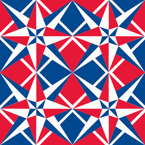 Compass IIII fabric by j-andrew on Spoonflower - custom fabric