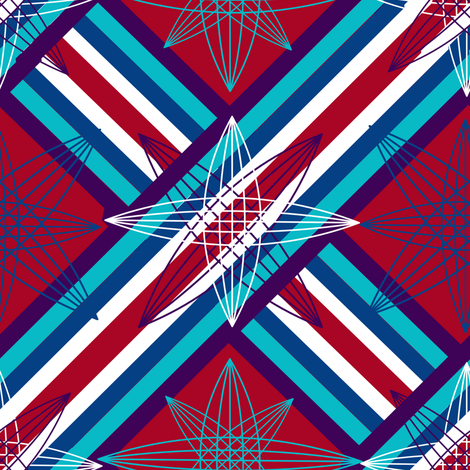 marzlene_stars & stripes fabric by marzlene'z_eye_candy on Spoonflower - custom fabric