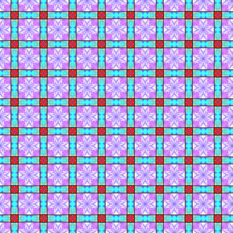 Checkerboard 3 (smaller repeat) fabric by dovetail_designs on Spoonflower - custom fabric