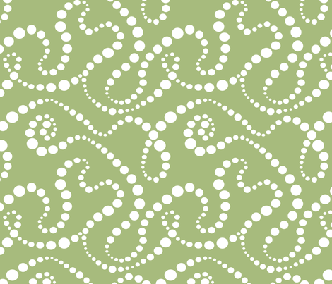 Smoke Over Grass fabric by tallulahdahling on Spoonflower - custom fabric