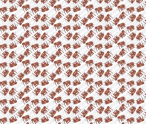 Woolly fabric by mag-o on Spoonflower - custom fabric