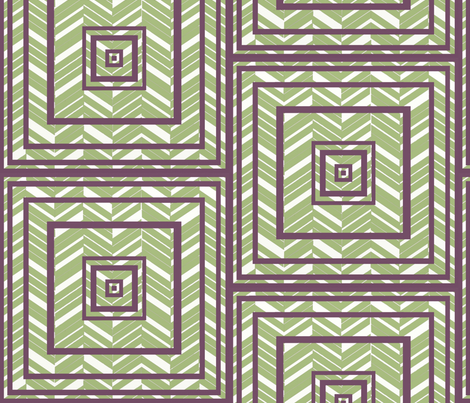 geometric_chevron1 fabric by renevere on Spoonflower - custom fabric