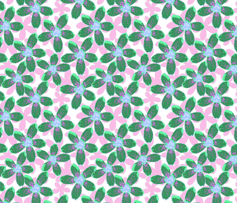 bunch of flowers fabric by sofiedesigns on Spoonflower - custom fabric