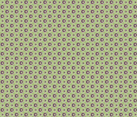 Green Purple Peas fabric by wiccked on Spoonflower - custom fabric