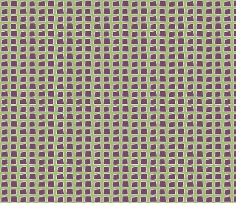 Blocks, green fabric by wiccked on Spoonflower - custom fabric