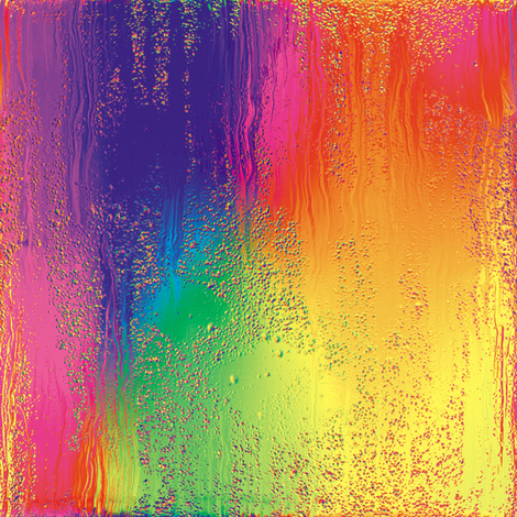 Rainbow Rain 4 fabric by animotaxis on Spoonflower - custom fabric