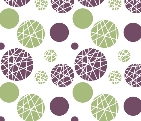 circles and lines fabric by chili on Spoonflower - custom fabric