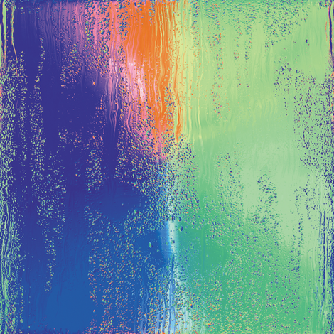 Rainbow Rain 11 fabric by animotaxis on Spoonflower - custom fabric