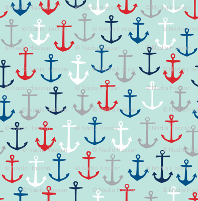 Anchors Aweigh: Nautical