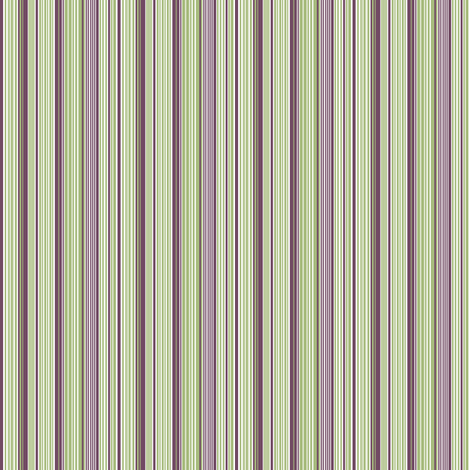 Avocado and Eggplant Vertical Stripes fabric by tallulahdahling on Spoonflower - custom fabric