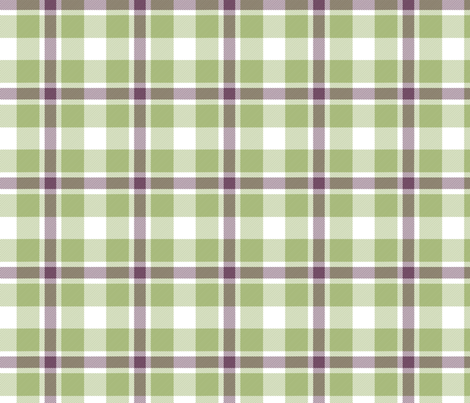 plaid fabric by feathers_of_a_lark on Spoonflower - custom fabric