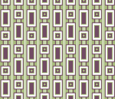 Retro Rectangles fabric by strive on Spoonflower - custom fabric