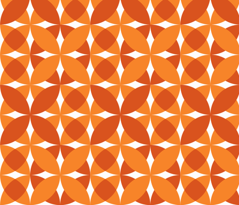 Pumpkin Pie fabric by owlandchickadee on Spoonflower - custom fabric