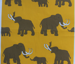 Mammoths_yellow and brown