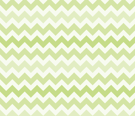 Fun with Chevrons - Salad fabric by owlandchickadee on Spoonflower - custom fabric