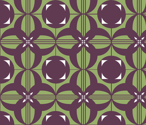 Geometric  fabric by mama_teapot on Spoonflower - custom fabric