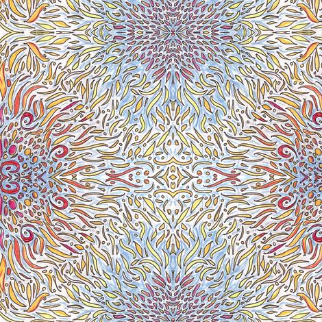summer_love_3 fabric by kcs on Spoonflower - custom fabric
