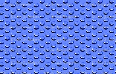 Building bricks blue