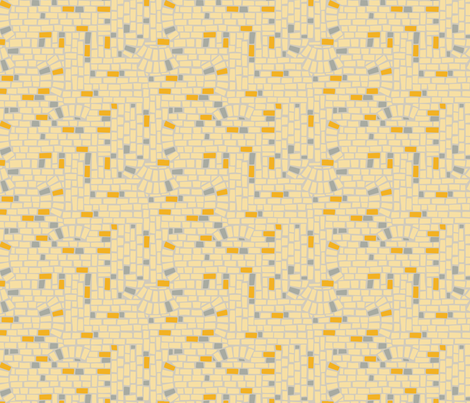 Cream City Brick fabric by acbeilke on Spoonflower - custom fabric
