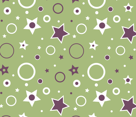 Geometric Big_Top fabric by sketcher on Spoonflower - custom fabric