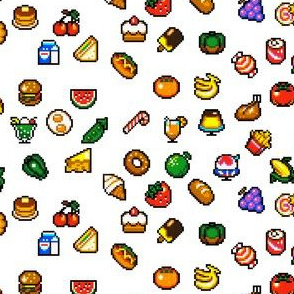 Super Mini Pixel Foods