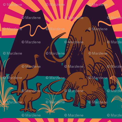 marzlene_Extinct animals