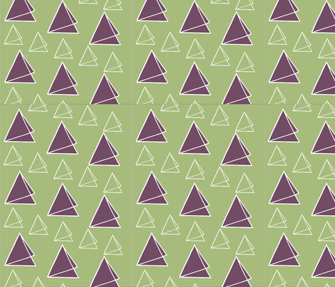 Triangle_triumph_lg fabric by annabd on Spoonflower - custom fabric