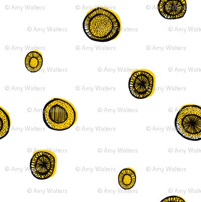 Yellow Circle Sparse
