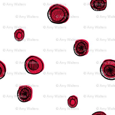Red Circle Sparse