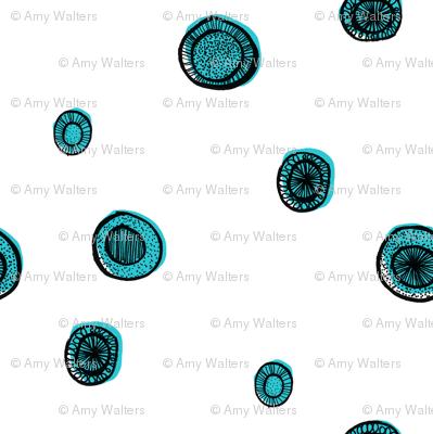 Blue Circle Sparse