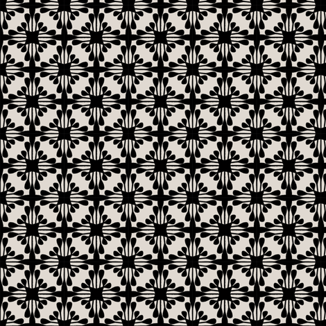 STELLA_BLACK fabric by glorydaze on Spoonflower - custom fabric