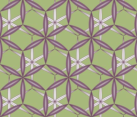 Quinquetra fabric by nekineko on Spoonflower - custom fabric